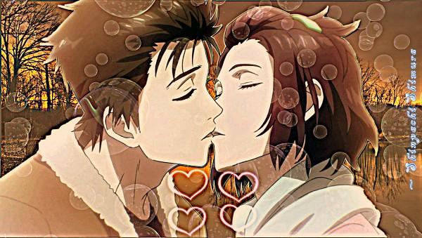 Tags: Anime, Kiseijuu, Murano Satomi, Izumi Shinichi, Wallpaper, Parasyte -the Maxim-