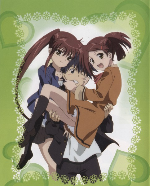 Tags: Anime, Kiss X Sis, Suminoe Keita, Suminoe Riko, Suminoe Ako