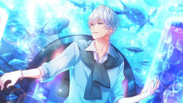 Tags: Anime, B-Project, Kitakado Tomohisa, Aquarium, Wallpaper, CG Art