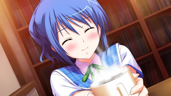 Tags: Anime, Purple Software, Primary Step, Kitami Yuri, Wallpaper, CG Art