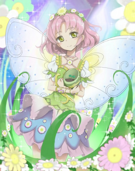 Tags: Anime, Pixiv Id 79362, Aikatsu!, Kitaouji Sakura, Vase, Fanart, Fanart From Pixiv, Pixiv
