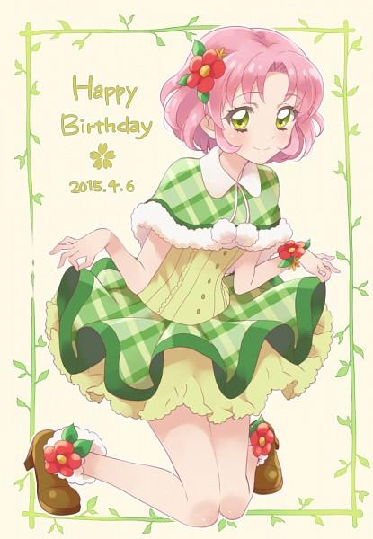 Tags: Anime, Pixiv Id 2494119, Aikatsu!, Kitaouji Sakura, Curtsey, Fanart From Pixiv, Mobile Wallpaper, Pixiv, Fanart