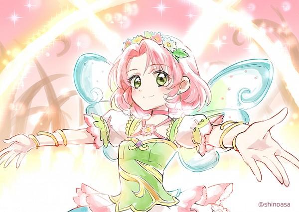Tags: Anime, Shinoasa, Aikatsu!, Kitaouji Sakura, Pixiv, Fanart, Fanart From Pixiv
