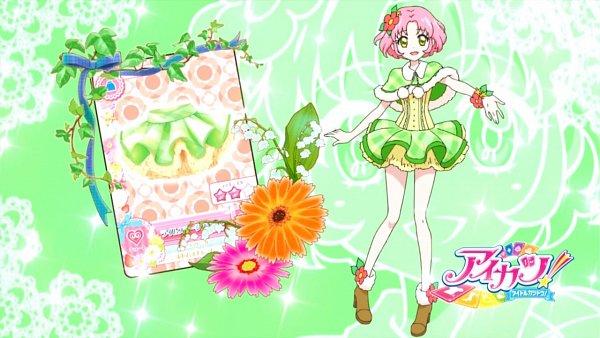 Tags: Anime, Aikatsu!, Kitaouji Sakura, Wallpaper, Eyecatcher