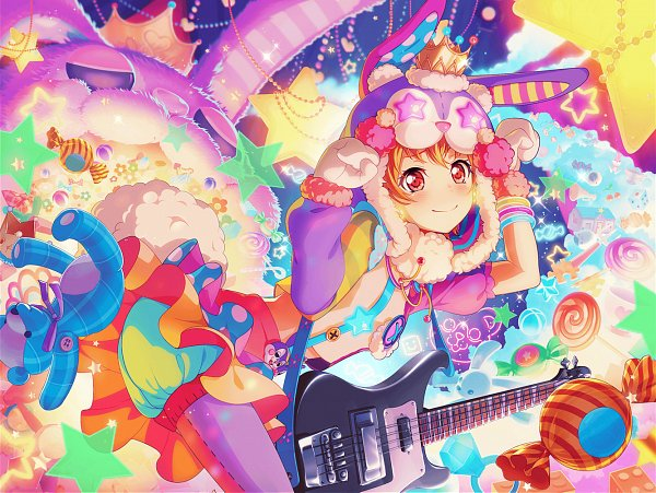 Tags: Anime, Craft Egg, BanG Dream! Girls Band Party!, Kitazawa Hagumi, Official Card Illustration, Official Art