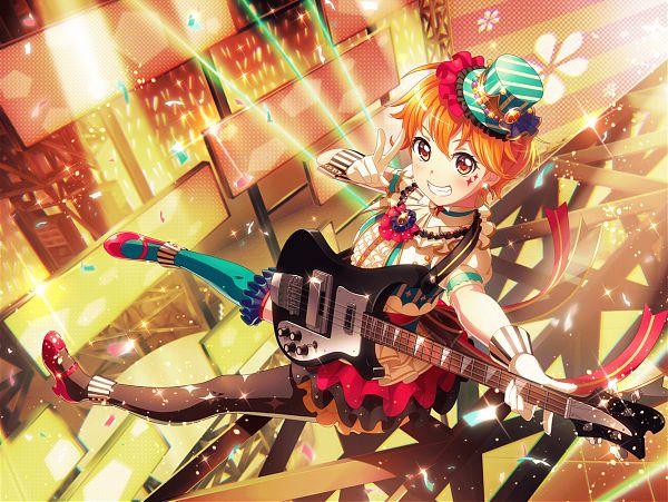 Tags: Anime, Craft Egg, BanG Dream! Girls Band Party!, Kitazawa Hagumi, Official Art, Official Card Illustration