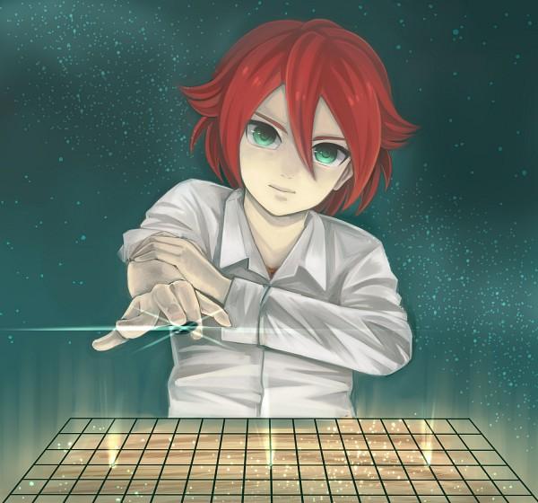 Tags: Anime, Inazuma Eleven, Kiyama Hiroto, Go Board, Hikaru No Go (Parody), Artist Request