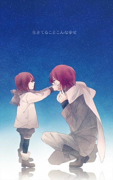 Tags: Anime, Himishiro, Inazuma Eleven, Kiyama Hiroto, Kira Hiroto, Mobile Wallpaper