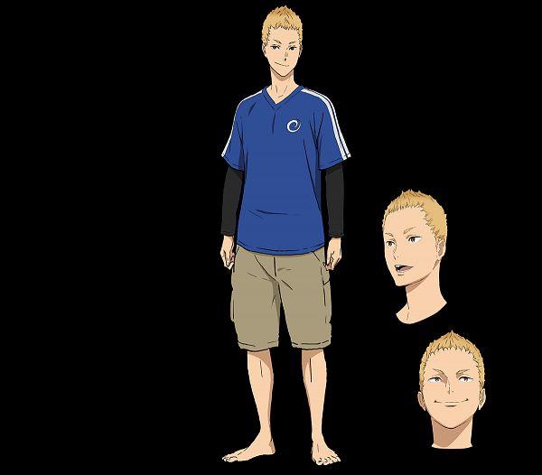 Tags: Anime, Chiba Takahiro, Production I.G., Kaze ga Tsuyoku Fuiteiru, Kizuki Jouta, Cover Image, Official Art