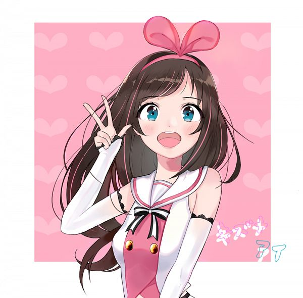 Tags: Anime, Pixiv Id 9597132, A.I.Channel, Kizuna AI, Pixiv, Fanart, Fanart From Pixiv, PNG Conversion