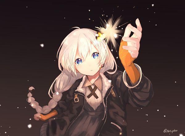 Tags: Anime, 3+, Voiceroid, VOCALOID, Kizuna Akari, Multi-colored Ribbon, Striped Ribbon, Orange Gloves, Depth Of Field, Striped Handwear, Striped Gloves, Orange Handwear, Fanart