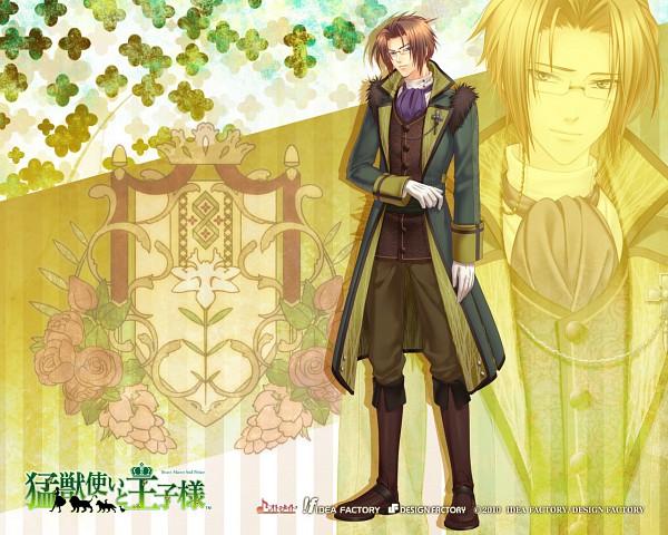 Tags: Anime, IDEA FACTORY, Moujuutsukai to Oujisama, Klaus, Wallpaper, Official Art, Official Wallpaper