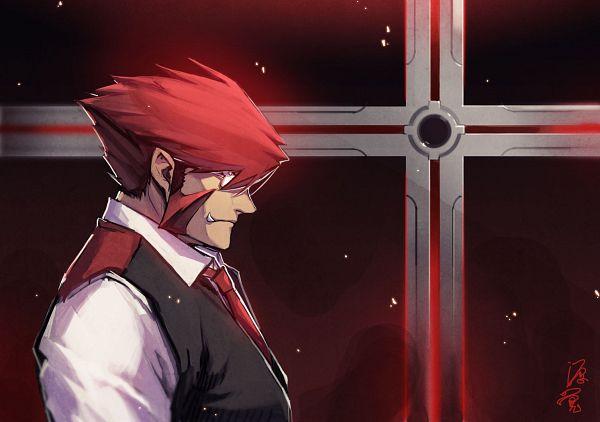 Tags: Anime, Minamoto Satoshi, Kekkai Sensen, Klaus V. Reinherz, PNG Conversion
