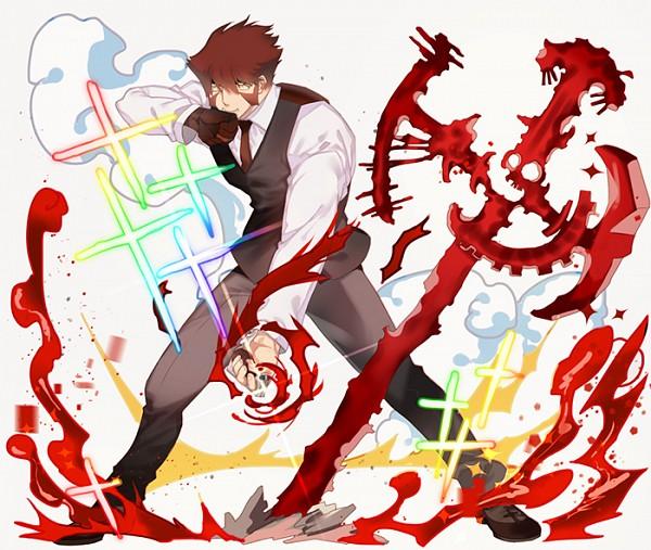 Tags: Anime, Kyoma (Artist), Kekkai Sensen, Klaus V. Reinherz, Fanart From Pixiv, Pixiv, Fanart