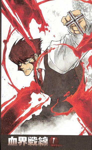 Tags: Anime, Nightow Yasuhiro, Kekkai Sensen, Klaus V. Reinherz, Official Art, Scan