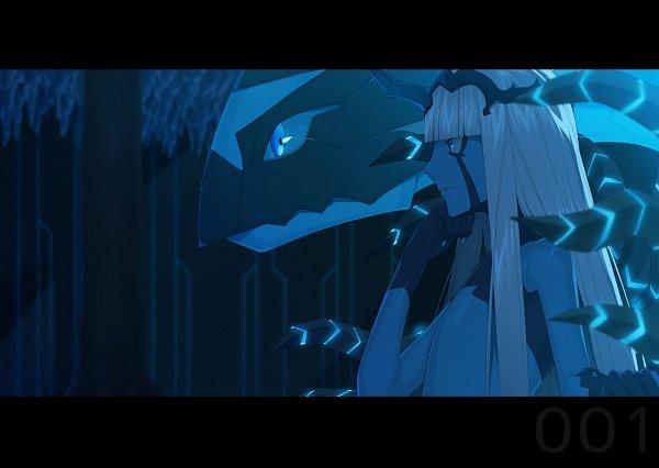 Tags: Anime, Pixiv Id 5762434, Darling in the FranXX, Klaxosaur Princess, Fanart From Pixiv, Pixiv, Fanart