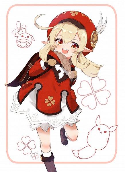 Tags: Anime, Pixiv Id 36951380, Genshin Impact, Klee (Genshin Impact), Trebol, Pixiv, Fanart, Fanart From Pixiv