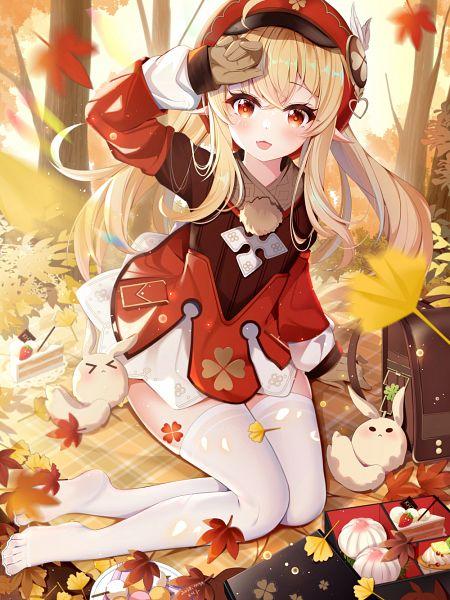 Tags: Anime, Pixiv Id 58434088, Genshin Impact, Klee (Genshin Impact), Strawberry Shortcake, Revision
