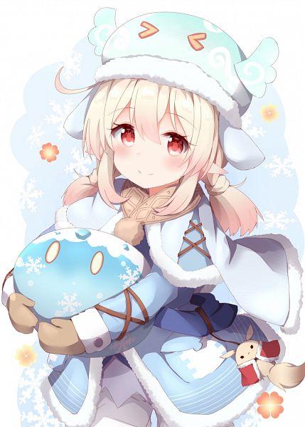 Tags: Anime, Pixiv Id 61121665, Genshin Impact, Klee (Genshin Impact), Slime (Genshin Impact), Slime
