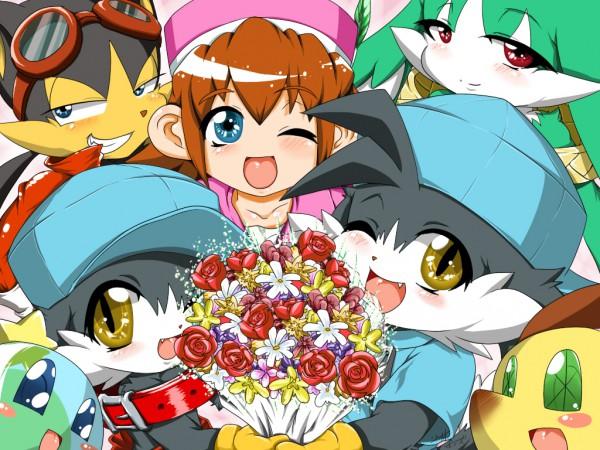 Tags: Anime, Klonoa, King Of Sorrow, Popka, Huepow, Tat, Klonoa (Character), Lolo, Guntz