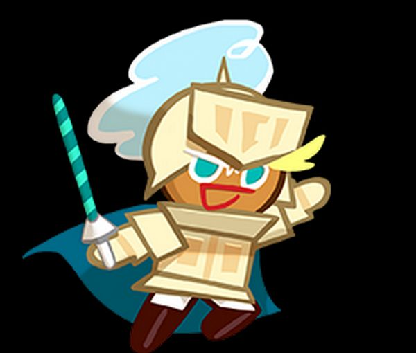 Tags: Anime, Devsisters, Cookie Run, Knight Cookie, Blue Cape, Upscale, Official Art