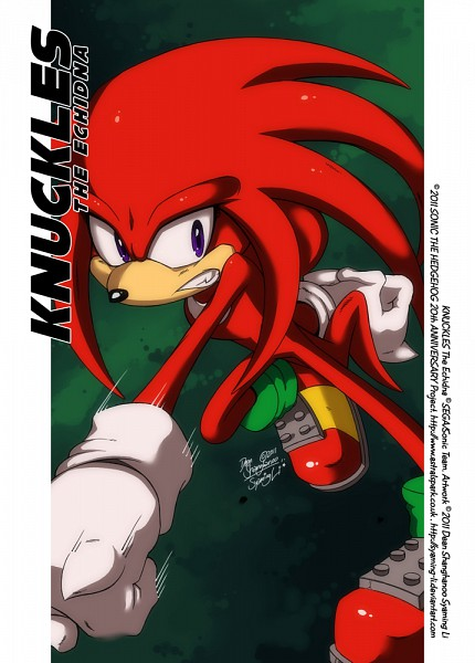 Knuckles the Echidna - Sonic the Hedgehog