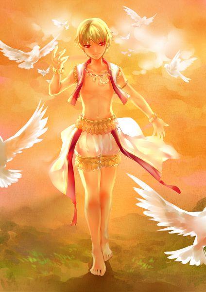 Tags: Anime, Psyche59, TYPE-MOON, Fate/kaleid liner PRISMA ☆ ILLYA, Ko-gil, Gilgamesh, Mobile Wallpaper