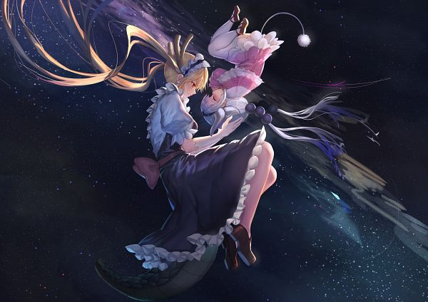 Tags: Anime, Pixiv Id 2218729, Kobayashi-san Chi no Maid Dragon, Kanna Kamui, Tooru (Kobayashi-san Chi no Maid Dragon), Dragon Tail, Fanart From Pixiv, Pixiv, Fanart, Miss Kobayashi's Dragon Maid