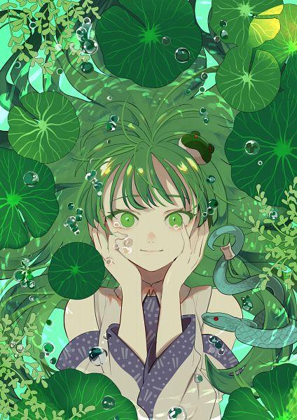 Tags: Anime, Joniko1110, Touhou, Kochiya Sanae, Pixiv, Twitter, Sanae Kochiya