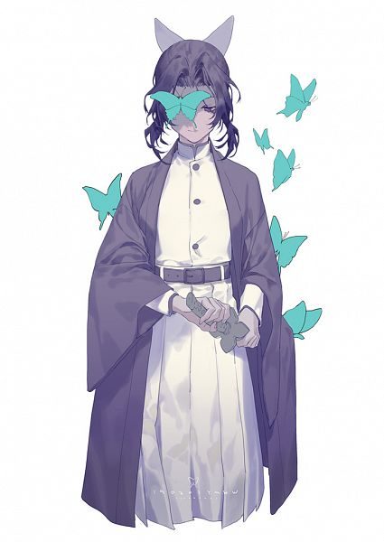 Tags: Anime, Yama Kawa, Kimetsu no Yaiba, Kochou Shinobu, Butterfly Eye, Fanart, Fanart From Pixiv, Pixiv