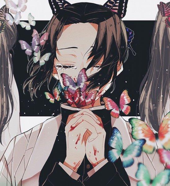 Tags: Anime, K, Kimetsu no Yaiba, Kochou Shinobu, Fanart From Pixiv, Pixiv, Fanart