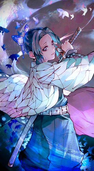 Tags: Anime, Melo Kyuba, Kimetsu no Yaiba, Kochou Shinobu, Fanart, Fanart From Pixiv, Pixiv