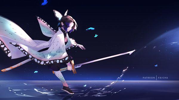 Tags: Anime, Pixiv Id 14263721, Kimetsu no Yaiba, Kochou Shinobu, Fanart From Pixiv, Pixiv, Fanart