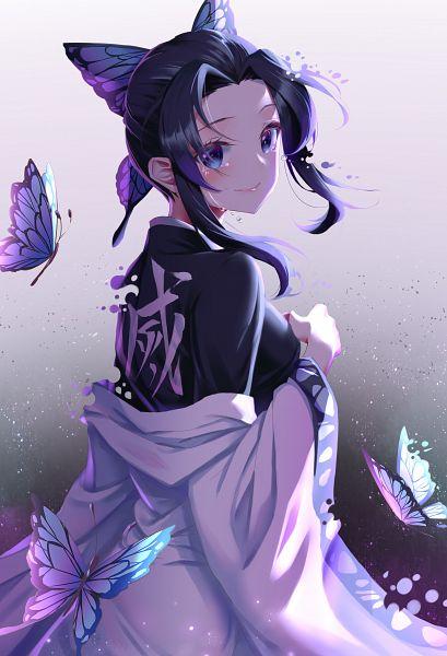 Tags: Anime, Pixiv Id 12817395, Kimetsu no Yaiba, Kochou Shinobu, Pixiv, Fanart, Fanart From Pixiv