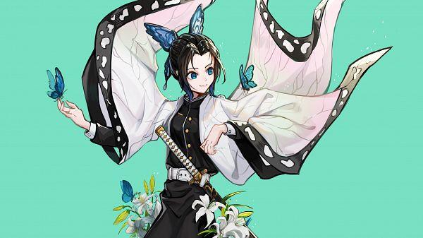 Tags: Anime, Pixiv Id 16985774, Kimetsu no Yaiba, Kochou Shinobu