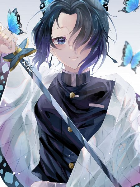 Tags: Anime, Pixiv Id 43605355, Kimetsu no Yaiba, Kochou Shinobu, Fanart From Pixiv, Pixiv, Fanart