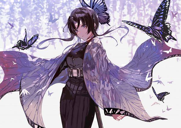 Tags: Anime, Pixiv Id 17965967, Kimetsu no Yaiba, Kochou Shinobu, Fanart, Fanart From Pixiv, Pixiv