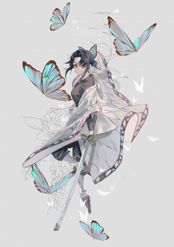 Tags: Anime, sijosae, Kimetsu no Yaiba, Kochou Shinobu, Pixiv, Wallpaper, Fanart, Mobile Wallpaper, Fanart From Pixiv