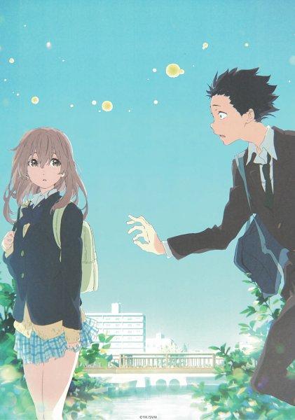 Tags: Anime, Kyoto Animation, Koe no Katachi, Nishimiya Shouko, Ishida Shouya, Official Art