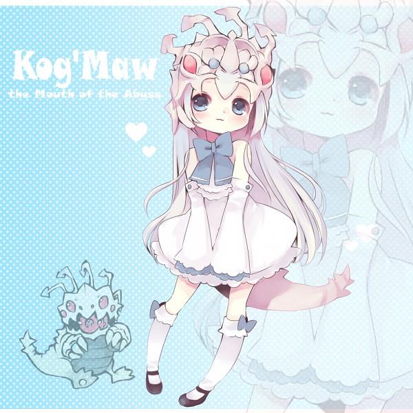 Tags: Anime, Konatsu Miyu, League of Legends, Kog'Maw, Pixiv, Fanart, Fanart From Pixiv