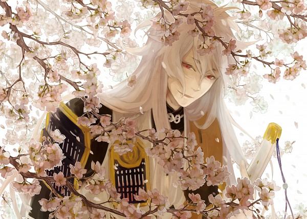 Tags: Anime, Pixiv Id 3676186, Touken Ranbu, Kogitsunemaru, Japanese Armor, PNG Conversion, Pixiv, Fanart, Fanart From Pixiv