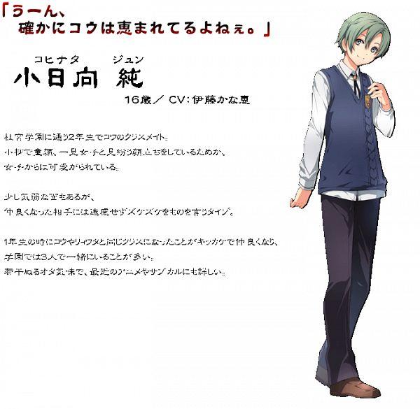 Tags: Anime, Falcom, Tokyo Xanadu, Kohinata Jun, Official Art, Cover Image