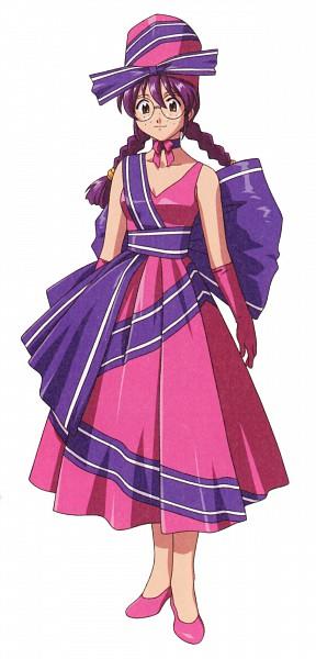 Tags: Anime, Fujishima Kousuke, SEGA, Sakura Taisen, Kohran Ri, Pink Handwear, Pink Gloves, Scan, Official Art