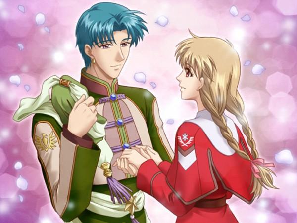 Tags: Anime, Koei, Koi Suru Tenshi Angelique, Angelique, Ange, Luva (Angelique), CG Art