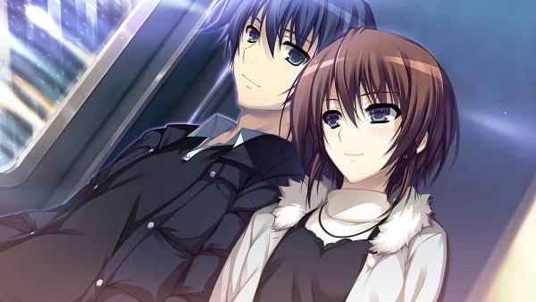 Tags: Anime, Tomose Shunsaku, Syangrila, Koi de wa naku, Norifumi Yasaka, Makishima Yumi, Wallpaper, CG Art