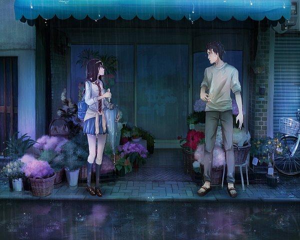 Tags: Anime, Koi wa Ameagari no You ni, Tachibana Akira, Kondou Masami, Age Difference, Fanart