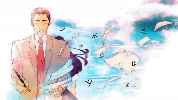 Tags: Anime, Koi wa Ameagari no You ni, Kondou Masami, Tachibana Akira, Fanart