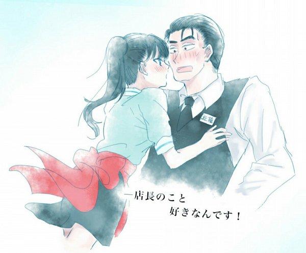 Tags: Anime, Koi wa Ameagari no You ni, Kondou Masami, Tachibana Akira, Age Difference, Fanart