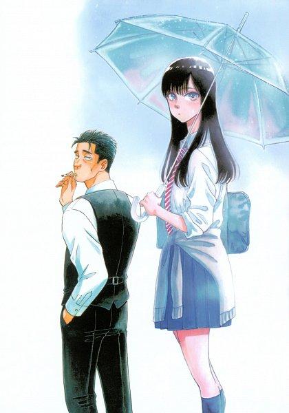 Tags: Anime, Mayuzuki Jun, Koi wa Ameagari no You ni, Kondou Masami, Tachibana Akira, Scan