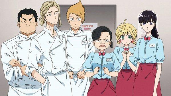 Tags: Anime, Koi wa Ameagari no You ni, Kase Ryousuke, Kubo Kayo, Nishida Yui, Yoshizawa Takashi, Kyan Haruka, Ootsuka, Tachibana Akira, Official Art, Screenshot